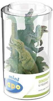 Mini Tubes Dinosaurier