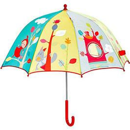 Wald Regenschirm