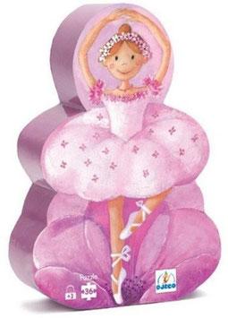 Puzzle Ballerina und die Blume - 36 Teile
