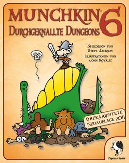 Durchgeknallte Dungeons  - 6 Munchkin