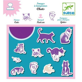 Stempel Katzen
