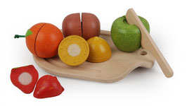 Obst schneiden