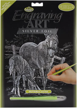 Scratch Bild - Pferde