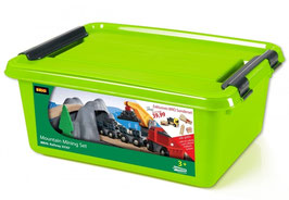 Minenset mit Batterielok in Plastikbox