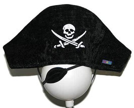 Piratenhut + Augenklappe