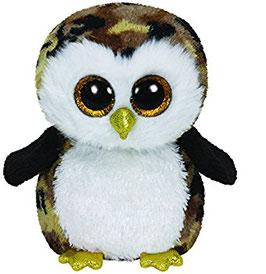 Owliver Eule schwarz braun - 24cm