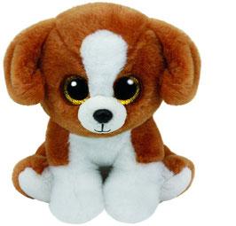 Snicky - Hund mit Glitzeraugen - Beanie Classic 15 cm