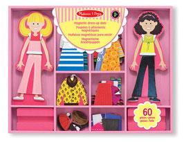 Abby & Emma Holz Magnetic Dress-Up