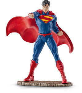 Superman kämpfend