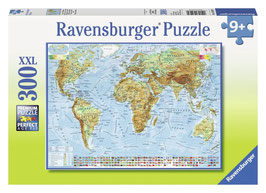 Politische Weltkarte - Puzzle 300 Teile