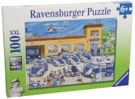 Polizeirevier - Puzzle 100 Teile XXL