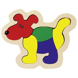 Einlegepuzzle - Hund