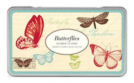Schmetterlinge Stempel Set