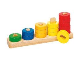 Farben und Formen Sortierspiel