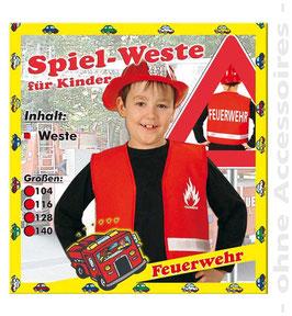 Feuerwehr Weste - Gr. 128