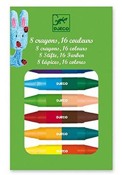 8 Twins crayons - Malstifte