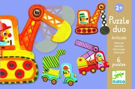 Puzzle Duo- Fahrzeuge