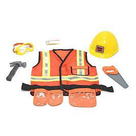 Kostüm-  Worker Bauarbeiter