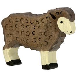 Schaf - stehend,  schwarz