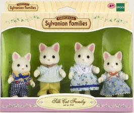 Seidenkatzen Familie
