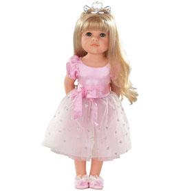 Hannah Princess, blonde Haare, 11-teilig