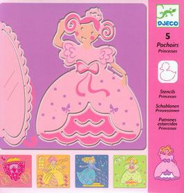 Schablone Prinzessin