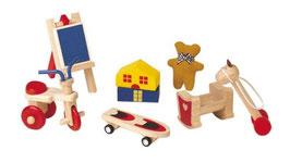 Kinderzimmer Zubehör für Puppenstube