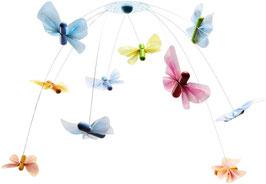 Mobile Schmetterlingsfreunde - Kinderzimmer Dekoration