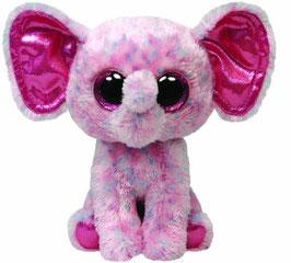 Ellie - Elefant rosa getupft - 24cm