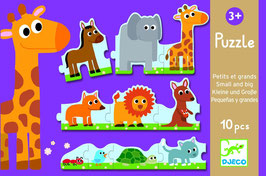 Puzzle  Safari -  10 Teile
