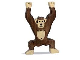 Schimpanse - stehend