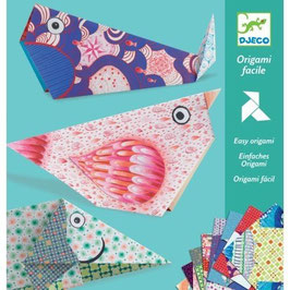 Origami Papier grosse Tiere
