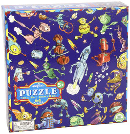 Puzzle - Viele Roboter - 64 Teile