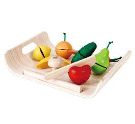 Früchte und Gemüse Schneide Set