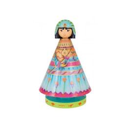 Musicole Princess egyptienne / Musikfigur Ägypten Spieluhr