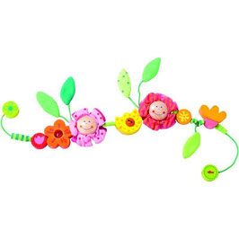 Kinderwagenkette Blüten