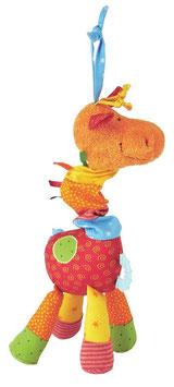 Giraffe Play Q Baby - Greifling, Beißring, Rassel - 24cm
