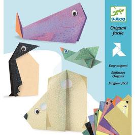 Origami Papier Polar Tiere