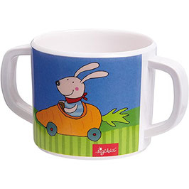 Tasse - Hase Melamin Racing Rabbit