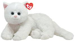 Crystal weiße  Plüsch Katze -  33cm