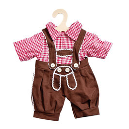 Kniebundhose mit Hemd für Puppe gr. 35-45cm, 2-teilig