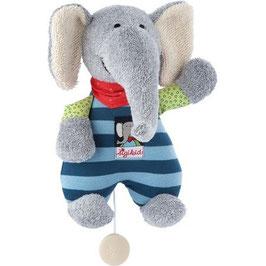 Spieluhr Elefant Lolo Lombardo klein