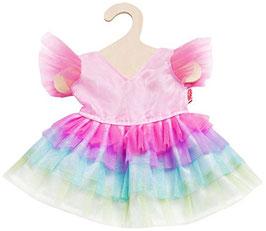 Regenbogenfee Kleid für Puppe gr. 28-35cm