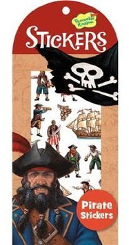 Peaceable Kingdom - Pirate Mini Sticker Pack