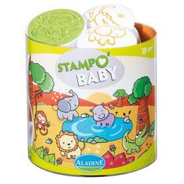 Stempel - Stampo Baby Safari Tiere