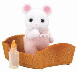 Weiße Maus Baby
