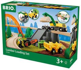 Bahn Waldarbeiter Set