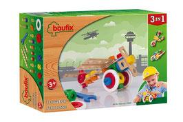 Baufix - Flugzeug - Holz Baukasten