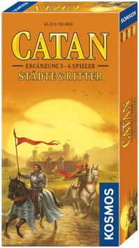 Siedler von Catan - Ergänzung für Städte und Ritte für 5 & 6 Spieler