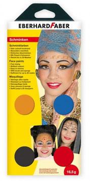 Oriental Schminkfarbe set 4er